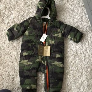 GAP baby camo snow suit